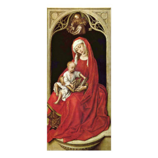 Mary With Christ Child (Madonna Duran) By Rogier Customized Rack Card