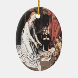 Mary With Jesus and Angels Ornament