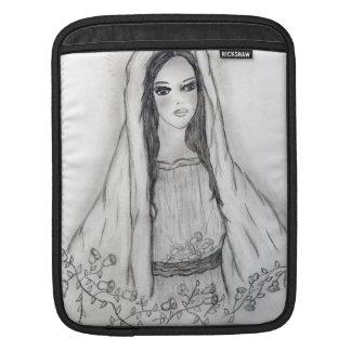 Mary with Roses iPad Sleeve