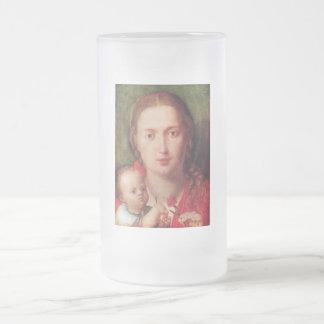 Mary with the carnation coffee mug