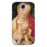 Mary with the child squatting galaxy s4 cover