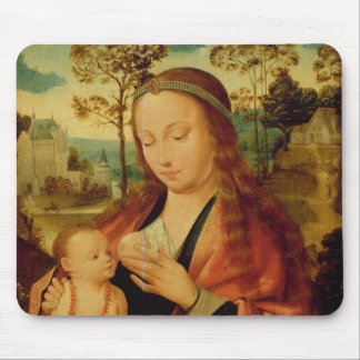 Mary with the Christ Child, early 16th century Mouse Pad