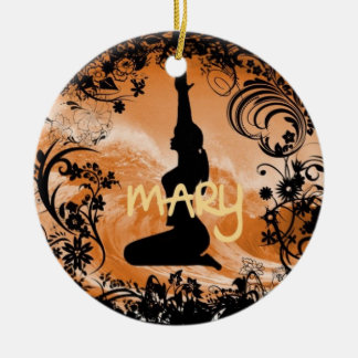 Mary Xmas Ornament