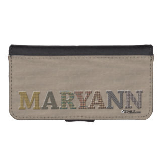 MARYANN Personalize Cellphone Case | Oxford Tweed