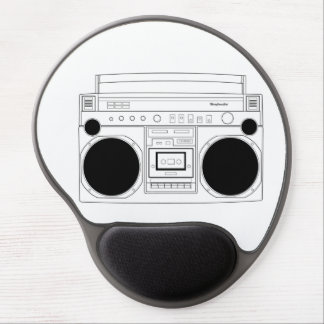 maryjanesgirl BoomBox gel mouse pad