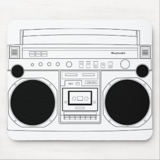 maryjanesgirl BoomBox Mouse Pad