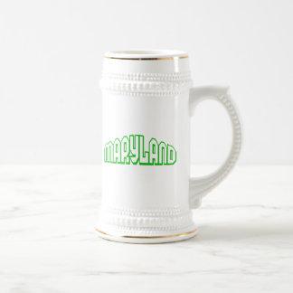 Maryland 18 Oz Beer Stein