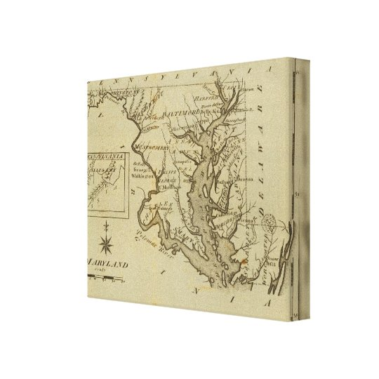 Maryland 2 canvas print