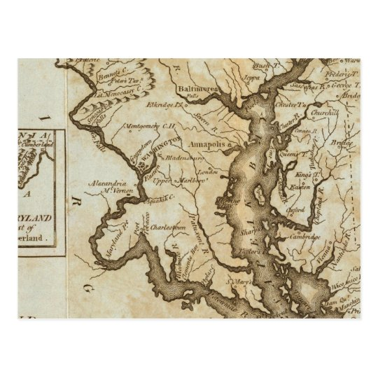 Maryland 4 postcard