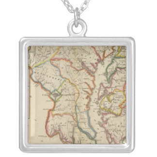 Maryland 4 square pendant necklace