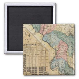 Maryland 8 2 inch square magnet