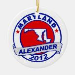Maryland Alexander Ornament