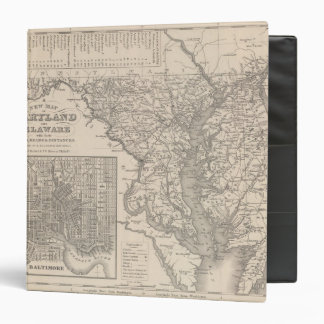 Maryland and Delaware 3 Ring Binder