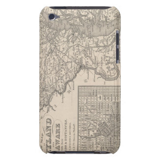 Maryland and Delaware iPod Touch Case-Mate Case
