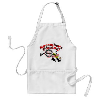 Maryland Anti ObamaCare – November's Coming! Adult Apron