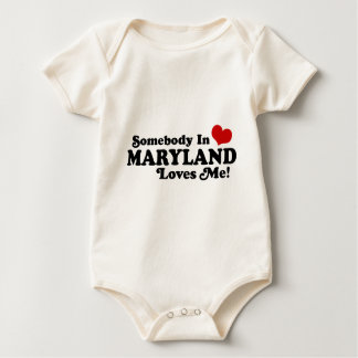 Maryland Baby Bodysuit