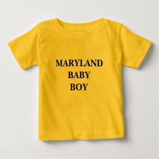 MARYLAND BABY BOY SHIRTS