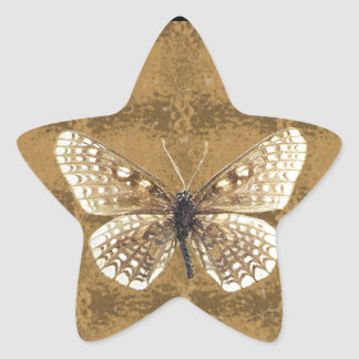 Maryland Baltimore Checker spot Butterfly Star Sticker