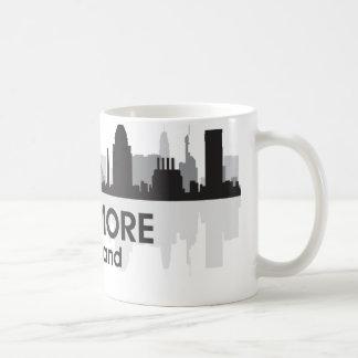 Maryland Baltimore Skyline Coffee Mug