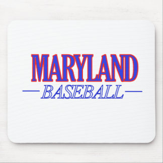 Maryland baseball DESIGNS Mouse Pad