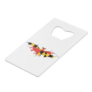 Maryland Bat Credit Card Bottle Opener