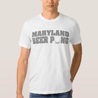 Maryland Beer Pong T-Shirts