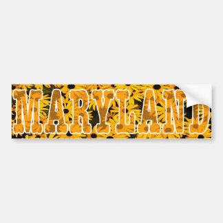 Maryland Black Eyed Susan Bumper Sticker