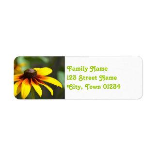 Maryland Black Eyed Susan Custom Return Address Label