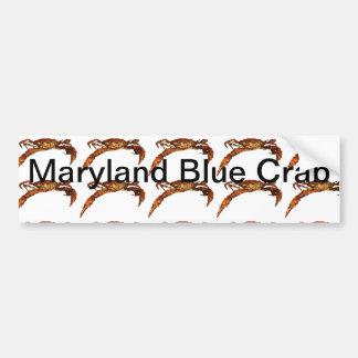 Maryland Blue Crab Bumper Sticker