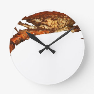 Maryland Blue Crab Round Clock