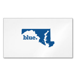 MARYLAND BLUE STATE BUSINESS CARD MAGNET