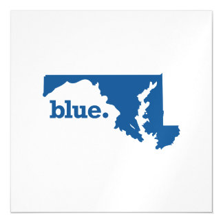 MARYLAND BLUE STATE MAGNETIC CARD