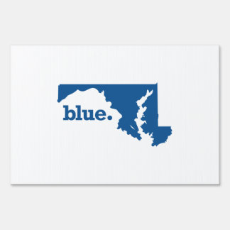 MARYLAND BLUE STATE SIGN