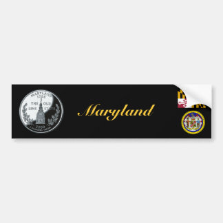 MARYLAND BUMPER STICKERS