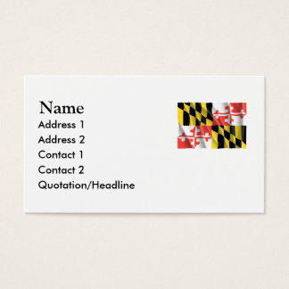 MARYLAND BUSINESS CARD