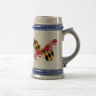 Maryland Butterfly Beer Stein