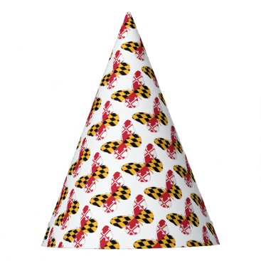 USA Themed Maryland Butterfly Party Hat