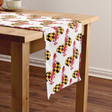 USA Themed Maryland Butterfly Short Table Runner