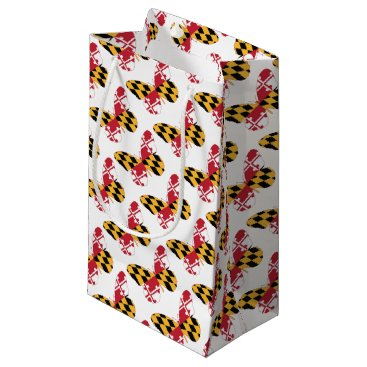 USA Themed Maryland Butterfly Small Gift Bag
