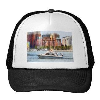 Maryland - Cabin Cruiser by Baltimore Skyline Trucker Hat