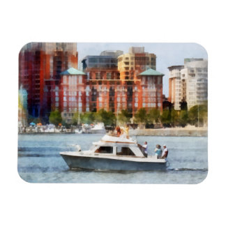 Maryland - Cabin Cruiser by Baltimore Skyline Magnets