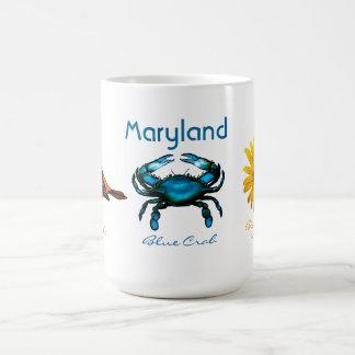 Maryland, cangrejo azul taza de café