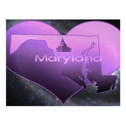Maryland casero tarjetas postales