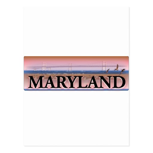 Maryland Chesapeake Bay Scene Postcards