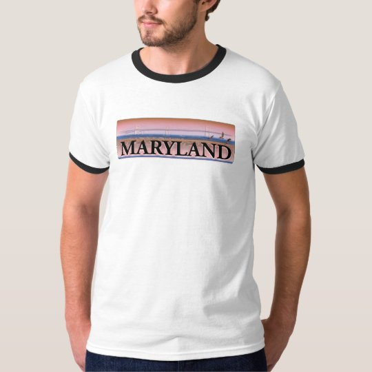 Maryland Chesapeake Bay Scene T-Shirt