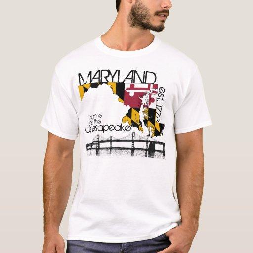 Maryland chesapeake bay shirt zazzle for South bay t shirt printing