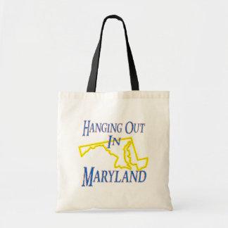 Maryland - colgando hacia fuera bolsas lienzo