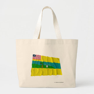 Maryland County Waving Flag Tote Bags