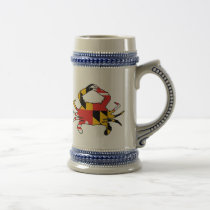Maryland Crab Beer Stein
