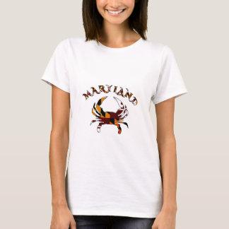 Maryland Crab Flag T-Shirt